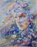 Sogno di primavera  - Ruzanna Scaglione Khalatyan - Acquerello