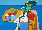 Paesaggio - Gabriele Donelli - Acrilico - 1200€
