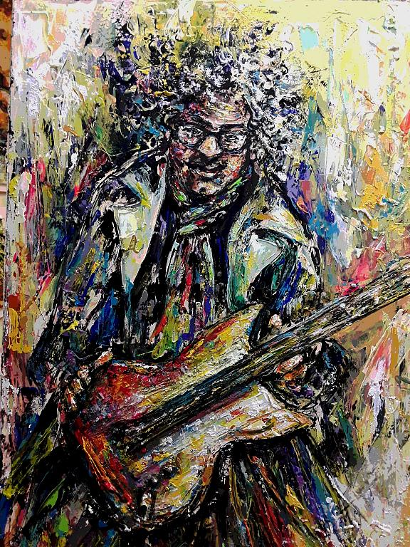 Tony - tiziana marra - Action painting