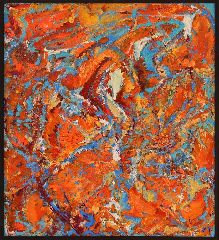 Anima nel colore 2 - Marisa Milan - Acrilico