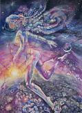 Allegoria dell'aurora - Ruzanna Scaglione Khalatyan - Acquerello