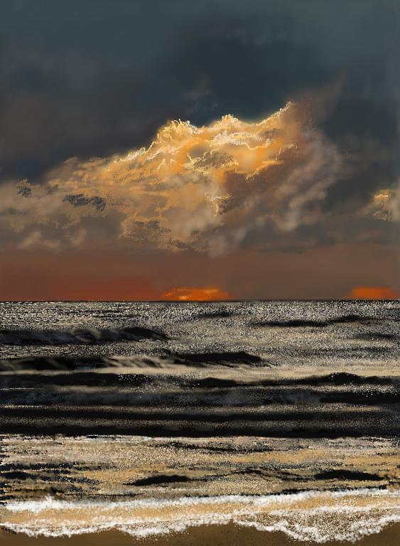 Mare di Giulianova - Michele De Flaviis - Digital Art