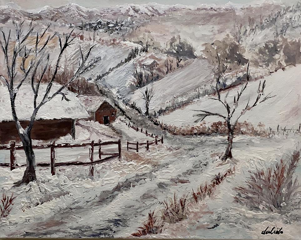 Gennaio 18 - Dalido Gino Marini - Acrilico