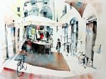 Sotto Broletto - Guido Ferrari - Acquerello - 500€