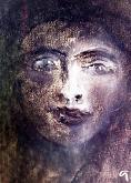 sguardo curioso - mario fanconi - Carboncino