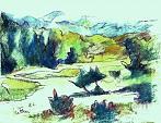scenario alpino - mario fanconi - Pastelli