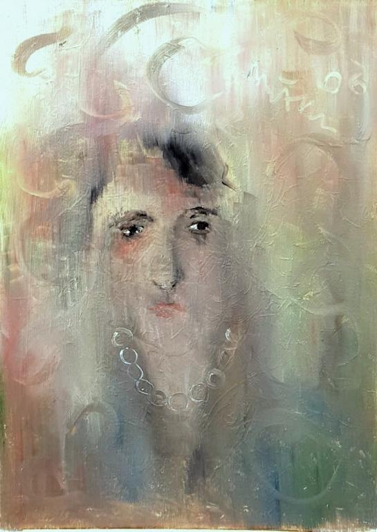 apparizione - mario fanconi - Pastelli