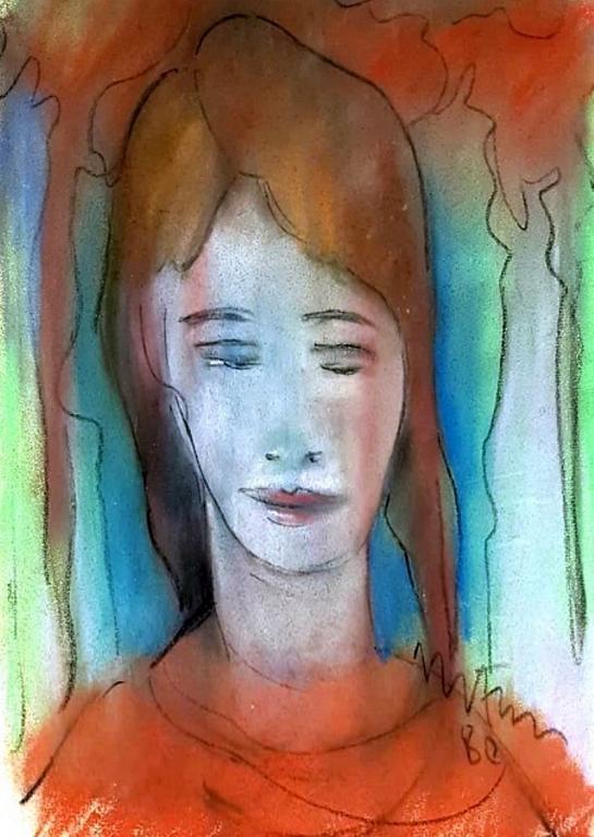 serenella - mario fanconi - Pastelli