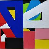 Serie giochi geometrici - Pietro Dell Aversana - Acrilico - 85€