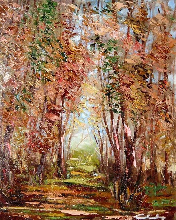 Luci d'autunno  - Carla Colombo - Olio