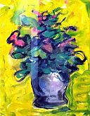 forme floreali - mario fanconi - Pastelli