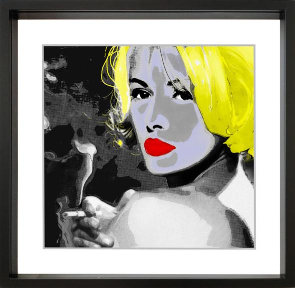 RITRATTO BIONDO - Stampa su tela retouchè - Ezio Ranaldi - MIX MEDIA ART TECNICA MISTA - 300 €