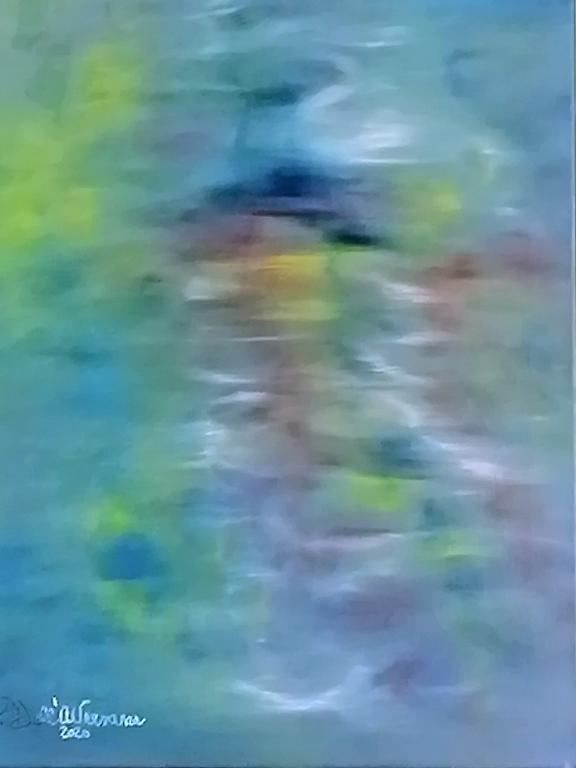 Figure nascoste - Pietro Dell Aversana - Olio - 100 €