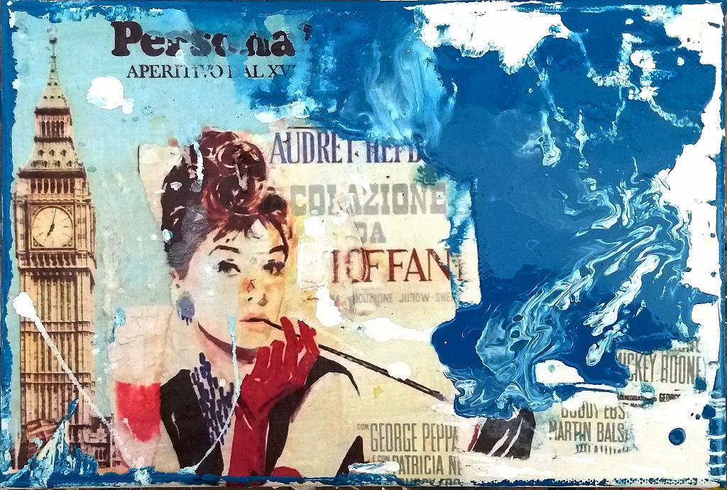 TIFFANY Figurativo Astratto stile PopArt - Ezio Ranaldi - Action painting - 175,00 €