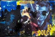 LA DOLCE VITA Figurativo astratto stile PopArt - Ezio Ranaldi - Action painting - 175,00€