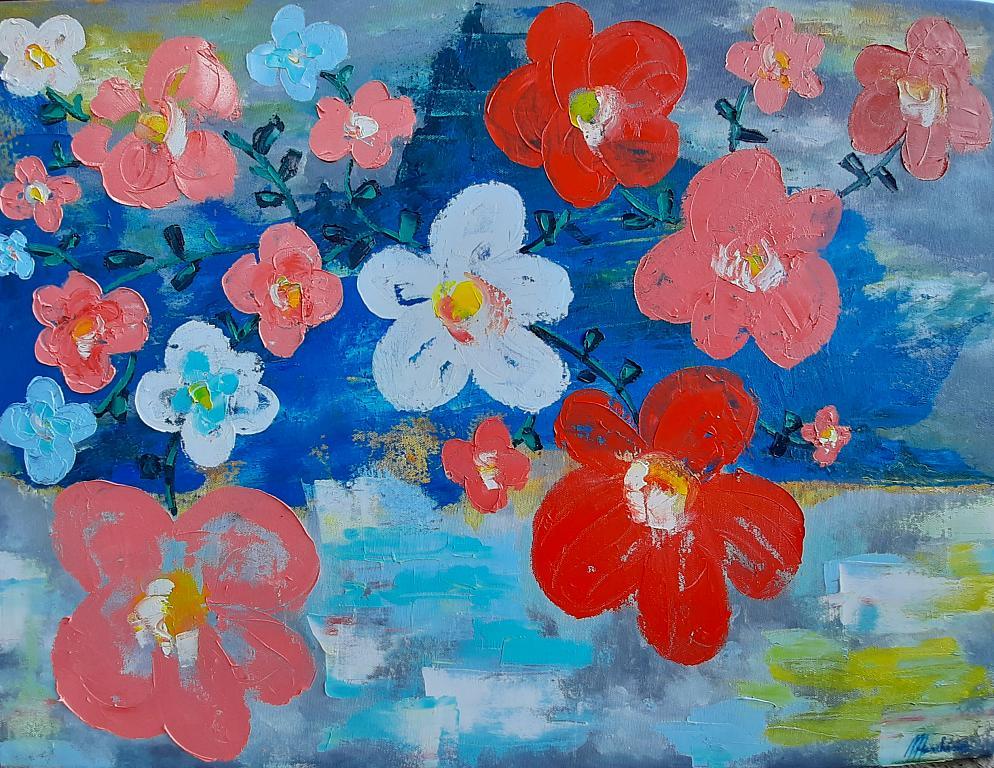 Flowers - Luana Marchisio - Olio - 140 €