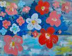 NOVITA'      Flowers - Luana Marchisio - Olio - 160€