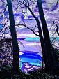 Nuvole sul lago - GRECO Bruno - Acrilico