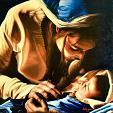 Maternità - GRECO Bruno - Olio