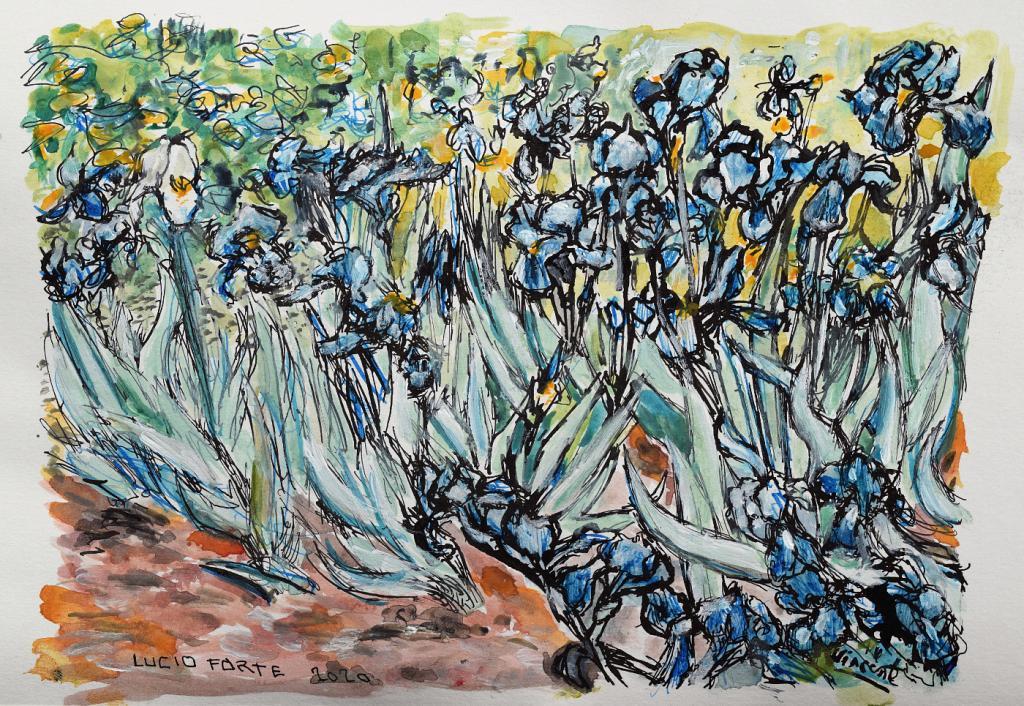 Vincent - Lucio Forte - China, acquerello su carta -  €