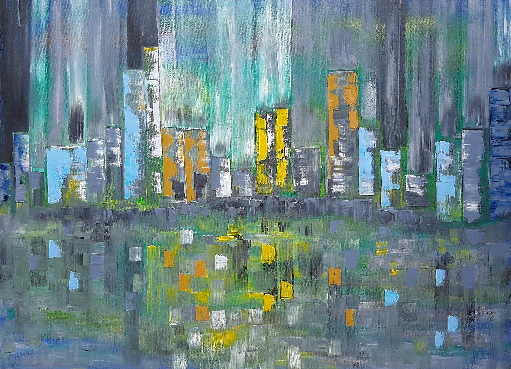 Big City Life - Luana Marchisio - Olio
