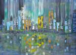 Big City Life - Luana Marchisio - Olio - 280€