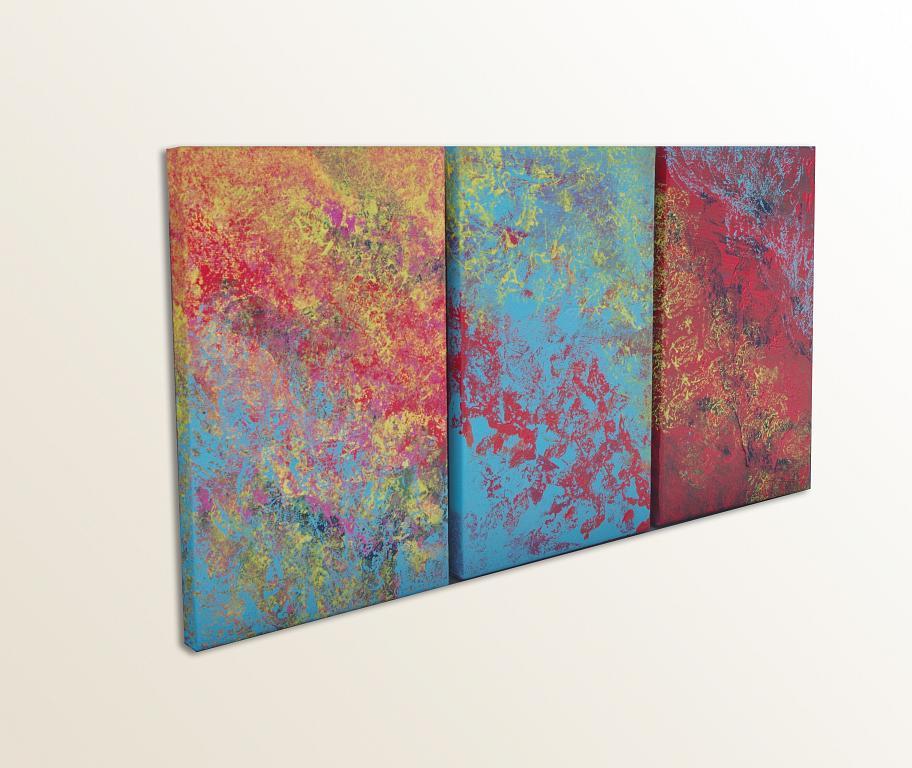 Mistycal, triptych - Davide De Palma - Acrilico - 150 €