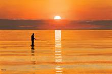 Pescatore all'alba - Michele De Flaviis - Digital Art