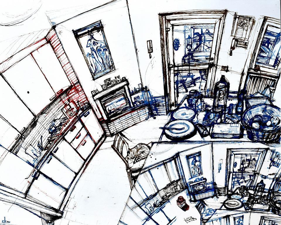 Untitled 38 - Lucio Forte - China su tela - 379 €