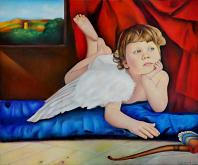 Cupido in riposo - Claudio Apparuti - Pastelli - €