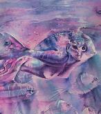 Sognando il mare woman fish - Ruzanna Scaglione Khalatyan - Acquerello