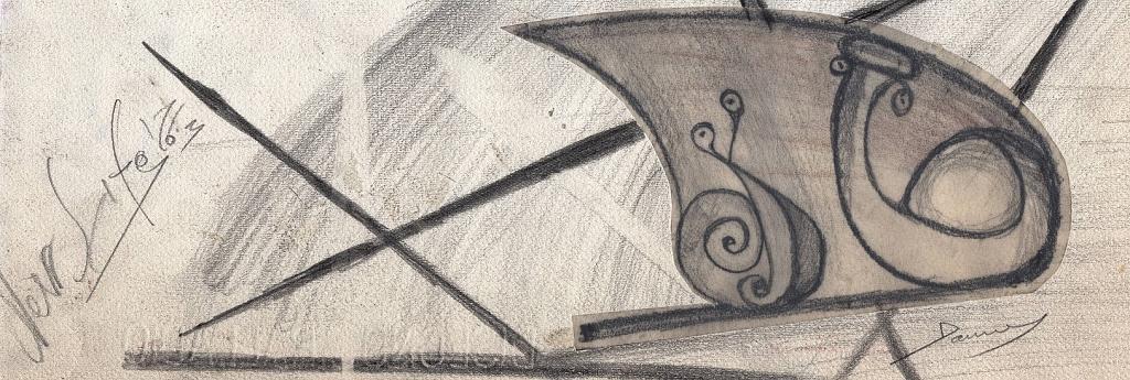 l'ingranaggio della vita -bozza- - daniele rallo - matita