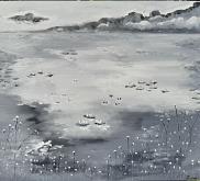 Il Gran Lago - Luana Marchisio - Olio