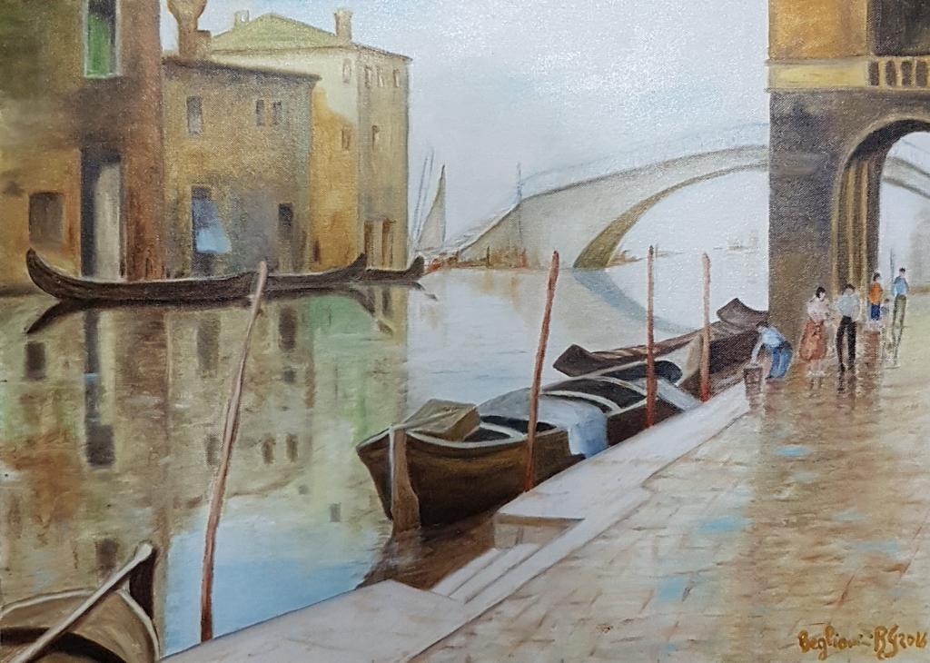Riflessi Veneziani - Roberta Grazia Begliomini - Olio - 870,00 €