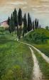 Casolare sul poggio Toscano - Roberta Grazia Begliomini - Olio - 1100,00€