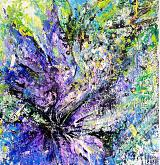 Iris - tiziana marra - Action painting - 280€