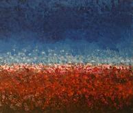 ...ma sono mille papaveri rossi - Girolamo Peralta - Acrilico e Tempera - 370€