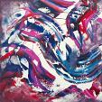 Magenta surface - Davide De Palma - Acrilico - 250€