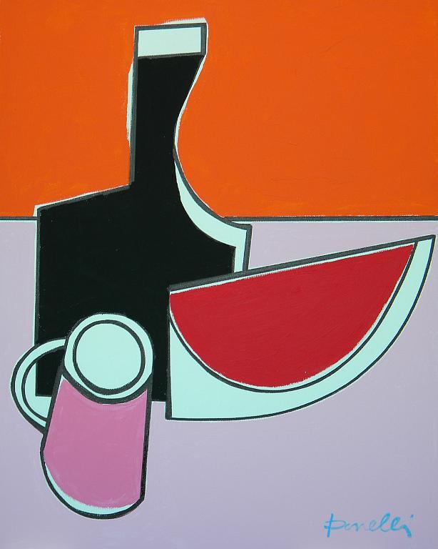 Natura morta - Gabriele Donelli - Acrilico - 400 €