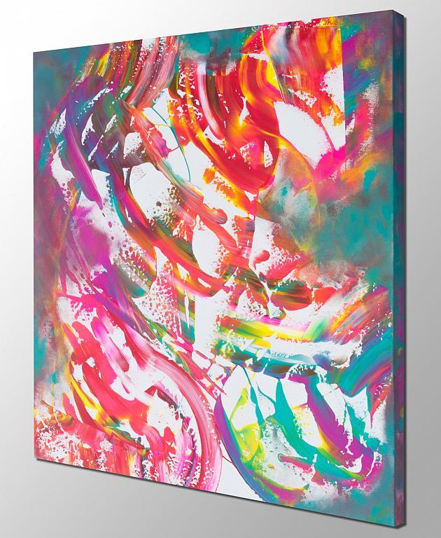 Reflexion - Davide De Palma - Action painting - 250 €