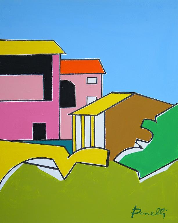Paesaggio - Gabriele Donelli - Acrilico - 900 €