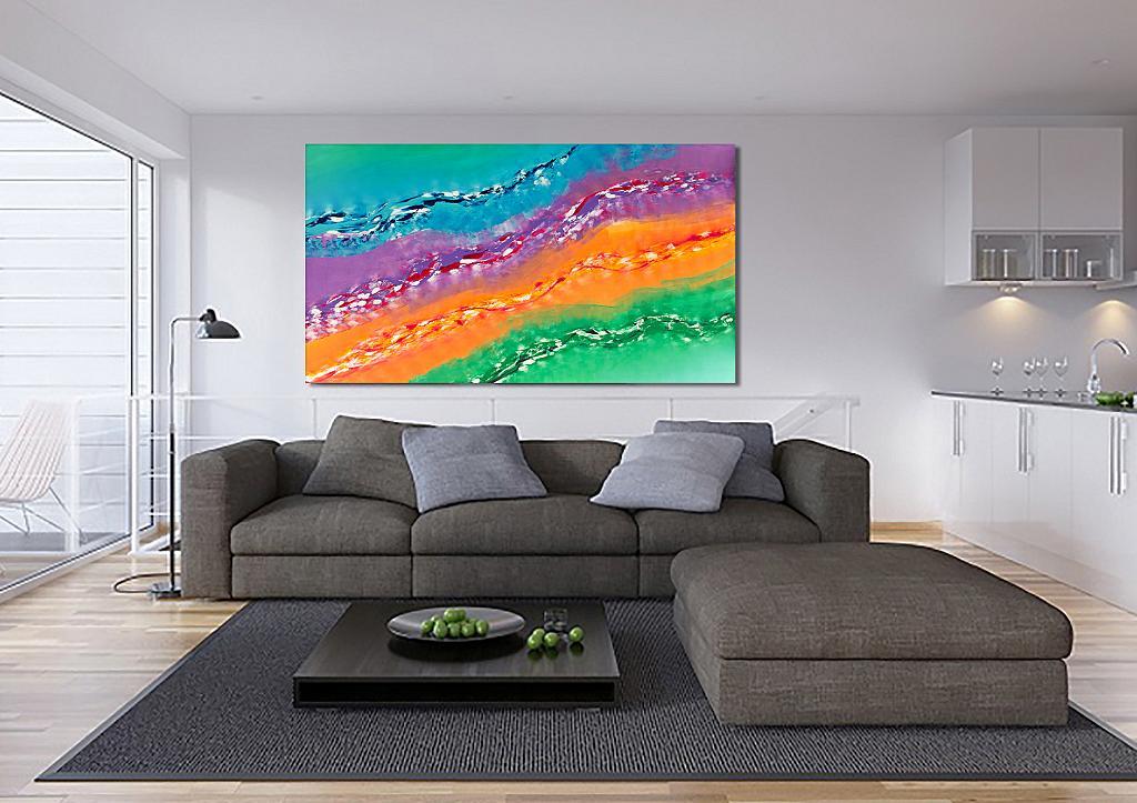 Suggestion - Davide De Palma - Action painting - 700 €