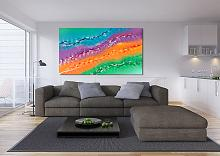 Suggestion - Davide De Palma - Action painting - 700€