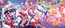 Dualism II - Davide De Palma - Action painting - 600€