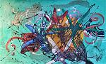 Stelle marine balinesi - anna casu - Acrilico