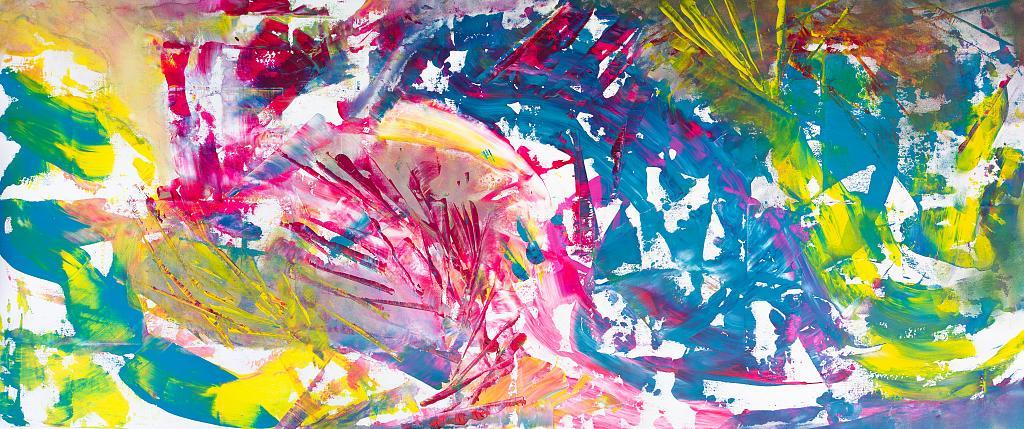 Enfant terrible - Davide De Palma - Action painting - 1500 €