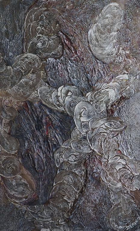 Silver Energy - Massimo Di Stefano - mista su legno - 500 €