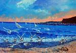 Venti di libeccio - Pietro Dell Aversana - stampa a colori - 25 €