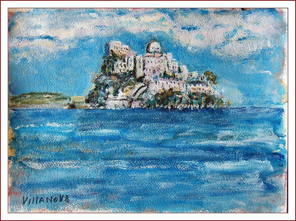 Ischia - Aurelio Villanova - Acrilico - 90 €