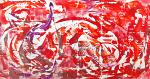 Red is the new black - Davide De Palma - Action painting - 700 €